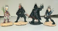 DIsney Infinity 3.0 Star Wars Marvel Originals Set Of 4 Characters