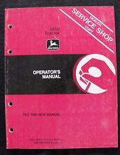 Genuine 198182 John Deere 8850 Tractor Operators Manual Ser 006501 Amp Up Clean