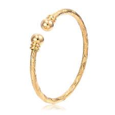 Child Toddler Jewelry Kids Girls Yellow Gold Filled Bangle Bracelet Baby Boy