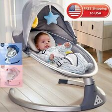 NEW SAFETY BABY ROCKING CHAIR BABY ELECTRICK CRADLE ROCKING CHAIR SOOTHING SLEEP