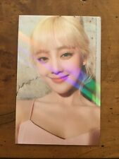 "(G)I-dle ""I Burn"" - Minnie Makestar Holographic Photocard"
