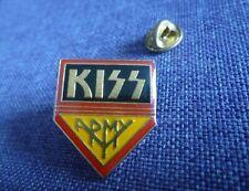 KISS ARMY VINTAGE PIN'S FAN CLUB HARD ROCK METAL