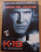 2 DVD,K19,The Widowmaker.Harrison Ford,Liam Neeson.Edicion Coleccionista