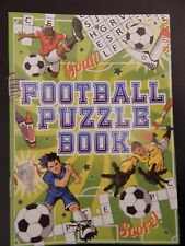 20 FOOTBALL Puzzle Books - A6 Size - Small Loot/Party Bag Fillers Kids