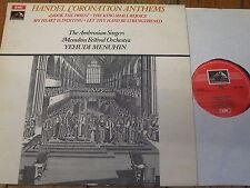 ASD 2584 Handel Coronation Anthems / Menuhin