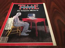 Time Magazine January 3, 1983 Machine of The Year The Computer Moves In