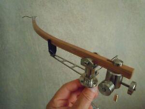 """New ! Hand Built wooden 12"""" tonearm-banana (EMT 997 replica)"""