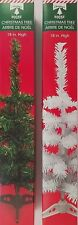 "Mini-Christmas Trees Table Top w Stands 18"" 2 Trees/Pk, Select Green or White"