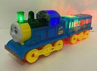 Kids Train New Flash Electric Long Train Lights & Music Train Bump & Go Toy