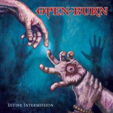 OPEN BURN - DIVINE INTERMISSION CD NO REMORSE 2018 LETHAL POWER METAL NEW SEALED
