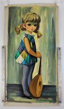 2 EDEN Vintage Original Paintings for Blancbois