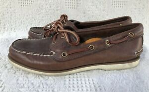 """"""" TIMBERLAND """" BOAT SHOE / MOCCASSIN - SIZE 7 M"""