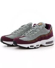 finest selection 25527 97f19 Nike Air Max 95 PRM Wmns Size 8 Sneakers Shoes Bordeaux Grey Yellow 807443  601