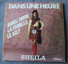 Sheila, dans une heure, LP - 33 tours