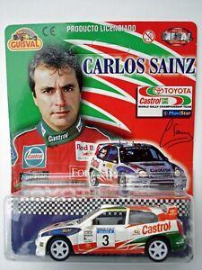 GUISVAL CARLOS SAINZ TOYOTA COROLLA CASTROL WORLD RALLY CAR MODEL
