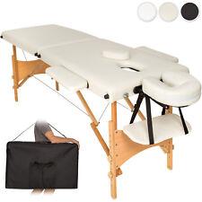 Table banc 2 zones lit de massage pliante cosmetique esthetique + sac