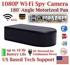 AES BB180 180° Motorized Battery Powered WIFI Wireless Spy Camera Nanny Cam