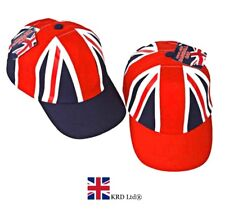 KIDS UNION JACK BASEBALL CAP Unisex GB Olympics Diamond Jubilee Souvenir Gift UK