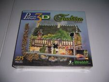 Wrebbit Puzz 3D Tradition Collection Puzzle 25 Steeple Road 225 Pieces New!