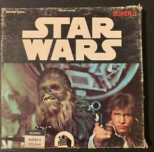 STAR WARS: EPISODE IV-A NEW HOPE-SUPER 8MM FORMAT,  COLOR AND SOUND
