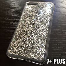 For iPhone 7+ / 8+ Plus - HARD TPU RUBBER CASE COVER SHINY GLITTER SEQUIN STARS