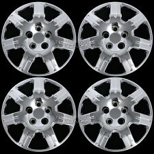 "4 Chrome 06-15 Honda Civic 16"" Bolt on Hub Caps Full Wheel Covers fit Steel Rims"