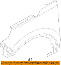 FORD OEM 11-15 Explorer-Front Fender Right BB5Z16005A