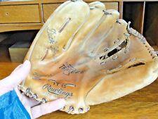 "Vintage Rawlings ""Big"" Trap-Eze Dick Howser Model TT 85 Baseball Glove ~ LHT"