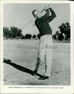 1960s Al Geiberger PGA Golf Champion Spalding Advisory Staff Photo