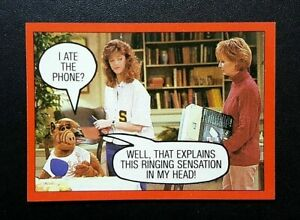 1988 Topps ALF Card 2nd Series - #59 I Ate The Phone?