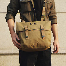 WWII WW2 US ARMY M1936 M36 FIELD MILITARY BAG MUSETTE PACK CANVAS HAVERSACK