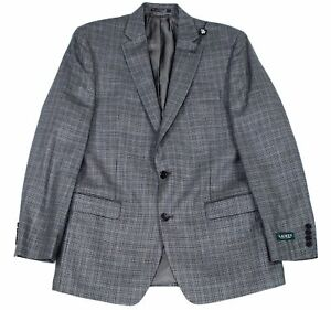 Lauren by Ralph Lauren Mens Suit Seperates Gray Size 44  R Blazer $375 153