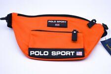 Ralph Lauren Polo Sport Bum Bag Cross Body Fanny Pack Bright Orange Unisex New