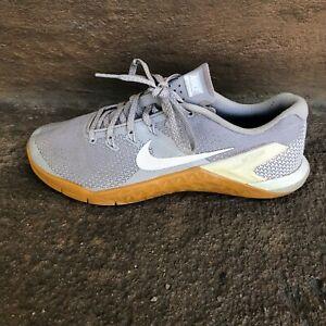 Nike Men's Shoes Size 8.5 Metcon 4 Crossfit Training Running Sneakers Gumshoe