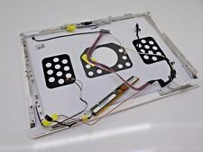 "Apple MacBook A1181 LCD Back Cover Lid 13.3"" White + Hinges + Webcam + Cables 36"