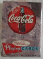 Coca Cola Unopened Deck of Playing Cards