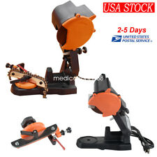 ELECTRIC GRINDER CHAIN SAW BENCH SHARPENER VISE MOUNT GRIND CHAINSAW WHEEL USA!