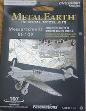 Messerschmitt Bf-109 Metal Earth 3D Laser Cut Metal Model Plane MMS118