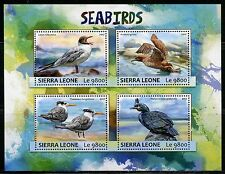 SIERRA LEONE 2017  SEA BIRDS  SHEET MINT NH