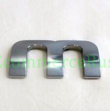 """02 03 04 05 06 07 08 Dodge Ram 1500 Letter """"M"""" Emblem Door Nameplate Badge Decal"""