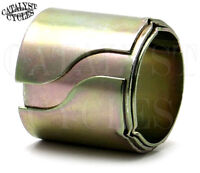 "Motorcycle Exhaust Pipe Reducer Sleeve Muffler Adapters (1.5"", 1-5/8"", 1.75"")"