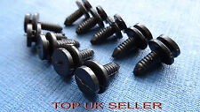 NISSAN BLACK TRIM PANEL INTERIOR PILLAR FASTENER CLIPS
