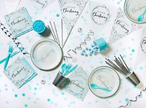 Christening Party Supplies  Blue Tableware Decorations On Your Christening Boys