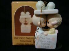 New ListingPrecious Moments Ornament-Our 1'st Christmas Together-Limited Edition 1988-Nice