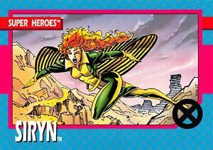 SIRYN / X-Men Series 1 (Impel 1992) BASE Trading Card #9