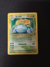 Pokémon Karte Bisaflor 15/102 - Basis Set - deutsch
