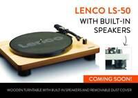 LENCO LS-50 WOOD GIRADISCHI CON ALTOPARLANTI INTEGRATI E USB NUOVO GARANZIA