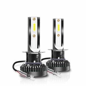 2x H1 LED Headlight Bulbs Conversion Kit 8000LM 6000K 80W White Hi/Lo Beam Lamps