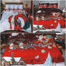 Christmas Duvet Cover 3D Design 2020 Range Exclusive and Limited (Santa xmas) UK