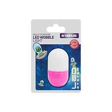 PINK + WHITE MULTI PURPOSE LED WOBBLE LIGHT FUN LIGHT WITH LR44 BATTERIES 34294